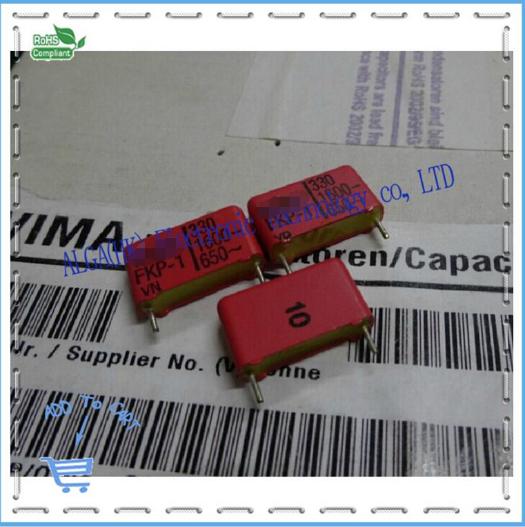 Electronic Components & Supplies Capacitors German Wei Ma Fkp1 Film Capacitor Nf 330 Pf 331 0.33 1600 V P15 5% Promoting Health And Curing Diseases