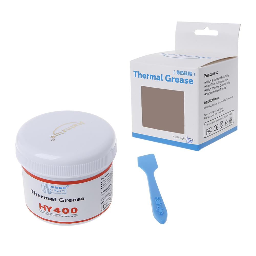 Thermal Grease <font><b>HY</b></font>-410/<font><b>HY</b></font>-<font><b>510</b></font> Heat Sink Conductive Silicone Compound Paste CPU Cooling VGA LED Chipset image