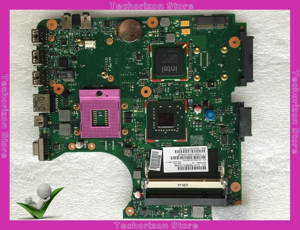 все цены на 538409-001 For HP Compaq 510 laptop motherboard GM965 DDR2 tested working онлайн