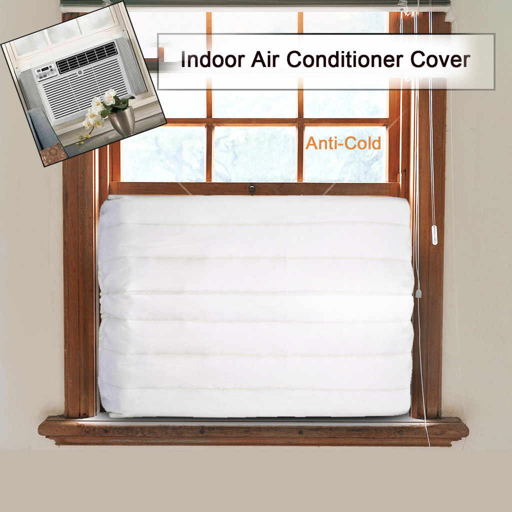 Window Indoor Air Conditioner Cover For