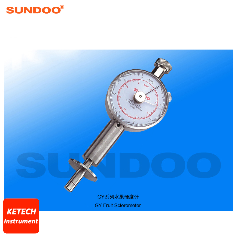 Apples, Pears, Strawberries and Grapes Fruit Shore Durometer Sclerometer Sundoo GY-2Apples, Pears, Strawberries and Grapes Fruit Shore Durometer Sclerometer Sundoo GY-2