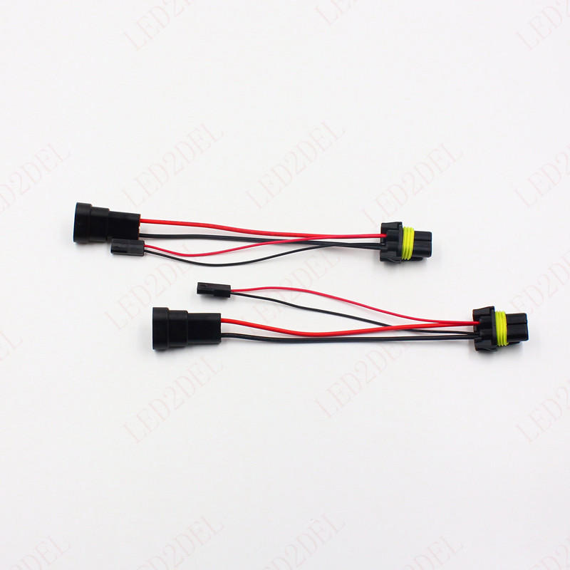 us $80 0 kelimi 9005 9006 adapters wire harness connector for the hid bi xenon headlight h l retrofit h1 d2s hid bulbs in car light accessories from  9006 bi xenon wiring harness #1
