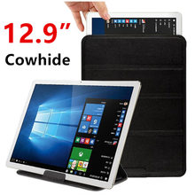 Case Cowhide Sleeve Tablet PC 12.9″ Protective Smart cover Protector Genuine Leather PU 12.9 inch Tablets 12.5 Cases Covers 12.6