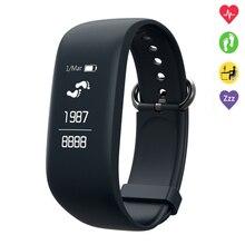 2017 New C8 Good Wristband Bluetooth Coronary heart Fee Monitor Sport Good Band GPS Passometer SOS Assist Health Bracelet