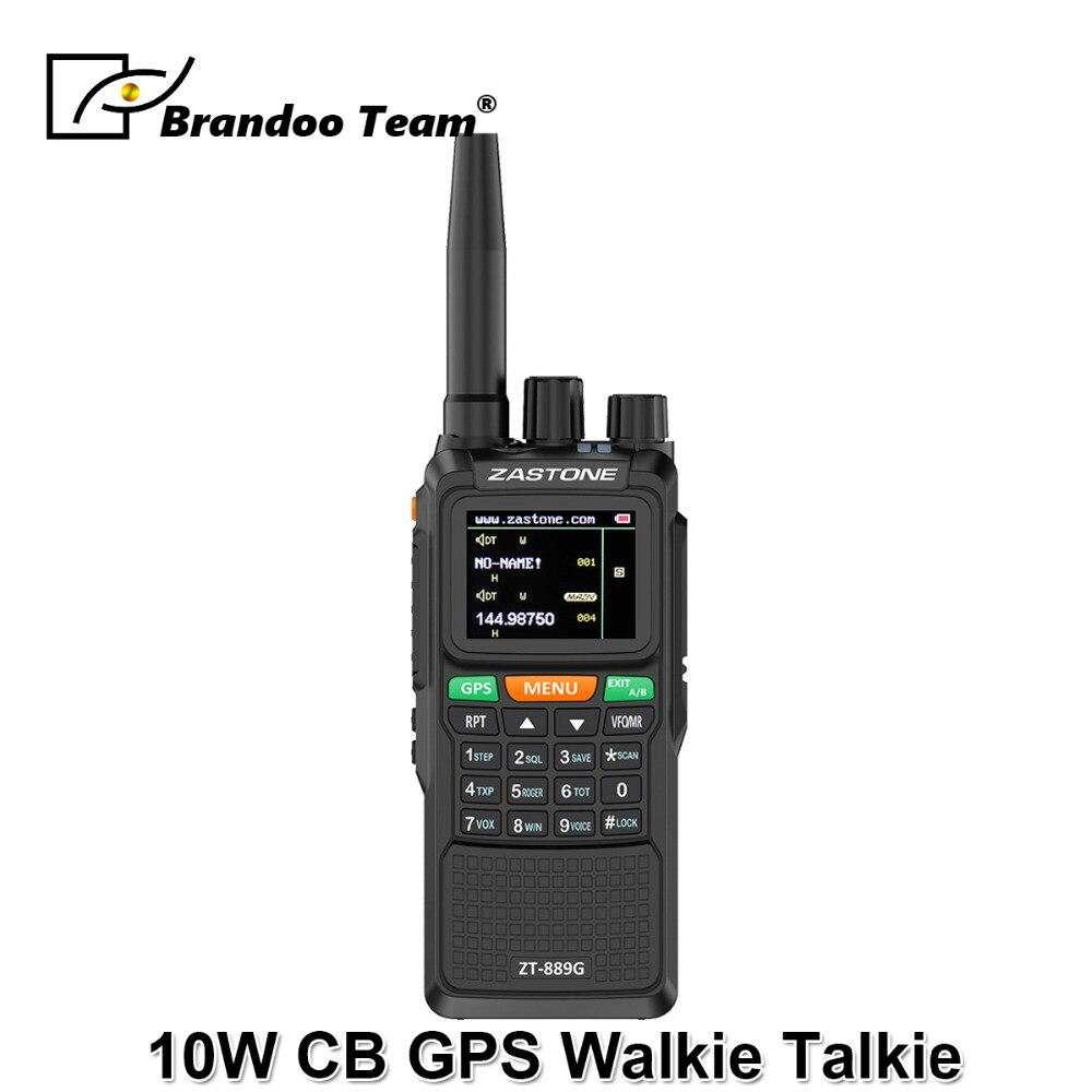 Sicherheit & Schutz Audio Intercom Clever 889g Gps Walkie Talkie 10 W 999ch 3000 Mah Uhf 400-520/vhf136-174mhz Schinken Cb Radio Hf Transceiver Für Erkunden Jagd Neueste Technik