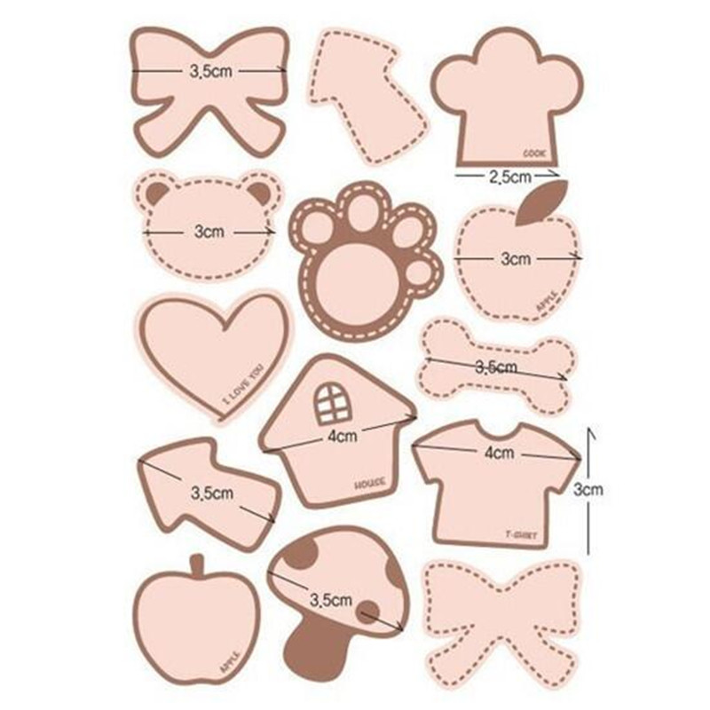 140 Pcs Blank Write Your Words DIY Gift Kraft Sticker Cookie/Cake/Gift  Labels Stickers Baby Shower Party Gift Sticker