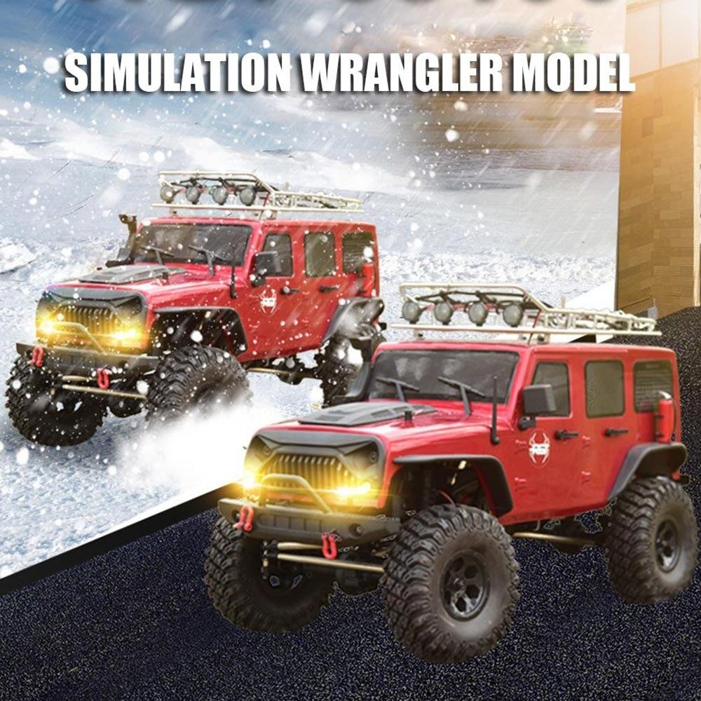 RGT Ruitai 86100 1:10 Simulation Wrangler quatre roues motrices télécommande électrique modèle adulte Rc voiture tout-terrain d'escalade - 3