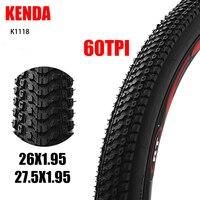 K1118 KENDA MTB Pneu de Bicicleta desgaste Anti-skid pneu de Bicicleta de Montanha Off-road pneu 26/27. 5*1.95 Dobrar pneu de Bicicleta pneus de bicicleta
