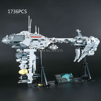 Hot Lepin Compatible LegoINGlys Star Wars With Figures Weapons Building Blocks Nebula B Medical Escort Brick