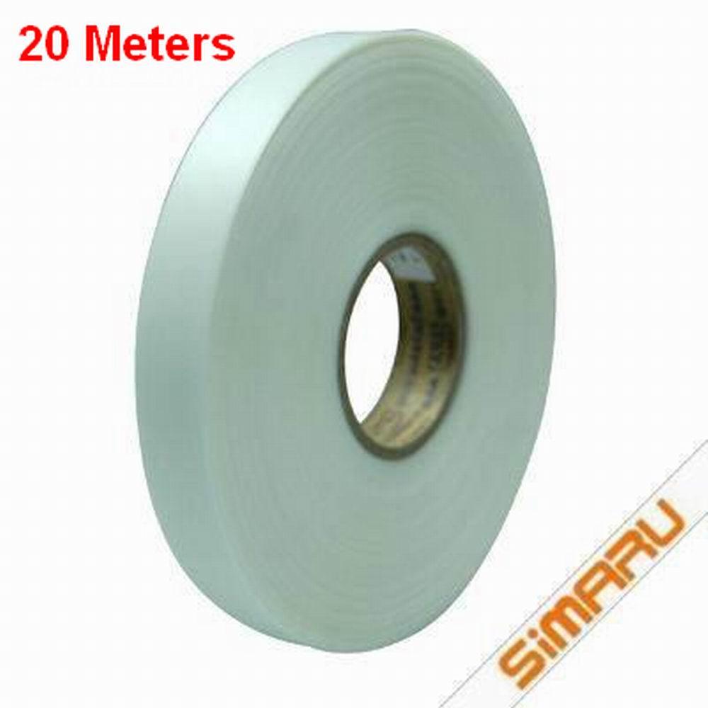 20 Meter 20, 22 atau 26 Mm Murni TPU Tape Panas Mencair Panas Las Seam Sealing Tahan Air untuk GORE-TEX Outdoor pakaian