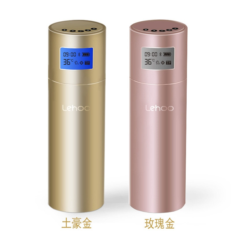 Smart Music Thermos Cup Stainless Steel Customize Thermos Bottle Temperature Time Display Outdoor Business Gift Cup