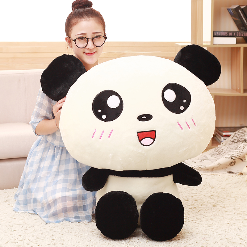 40cm super cute adorable panda plush toys big pillow sleeping pillow as a gift to the children and friends 110cm cute panda plush toy panda doll big size pillow birthday gift high quality