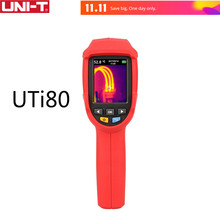 UNI-T UTi80 Thermal Imaging Camera Infrared Thermometer Imager -30C to 400C Degree 4800 pixels High Resolution Color Screen(China)