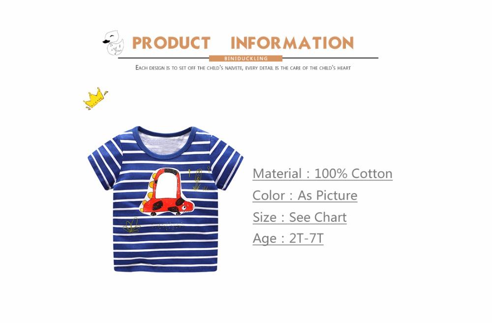 HTB1eBwhdjgy uJjSZSyq6zqvVXar - BINIDUCKLING Children T-shirt Boys t shirt Short Sleeves Tees Summer Kids Tops Dinosaur printed Baby Boy Clothing Cotton fireman