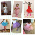 4-10Years Old Kid's Mesh Skirts Good Quality Nice Princess Tutu Many Colors Paillette Skirts Girls Summer Cute Soild Ball Gown