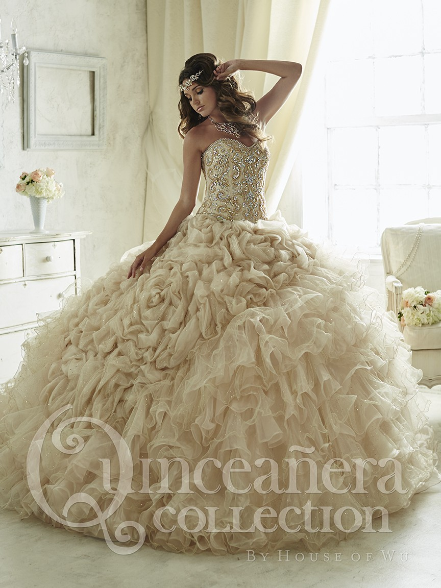 Quinceanera Gown Silver Promotion-Shop for Promotional Quinceanera ...