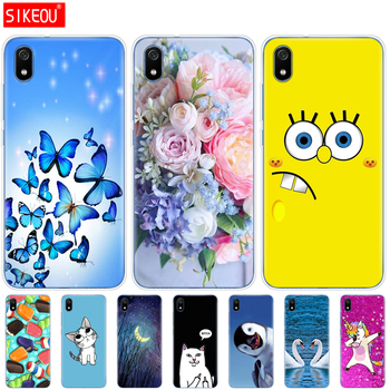 Silicone Case For Xiaomi Redmi 7a Cases Full Protection Soft Tpu Back Cover On Redmi 7 A Bumper Phone Shell Bag Coque soccer-specific stadium