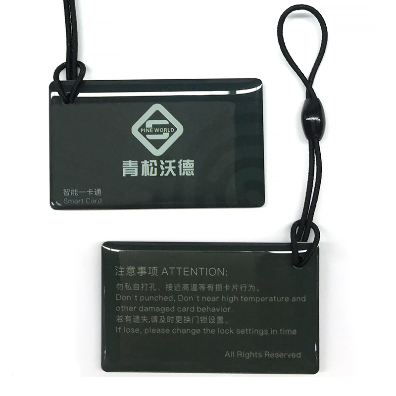 PINEWORLD RFID Cards For Smart Lock,13.56MHz Key Fobs For Q201,Q202,Q203,Q303+, RFID Keys For Access Control Time Attendance