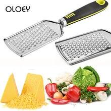 Oloey терка для чеснока и сыра из нержавеющей стали многоразовая