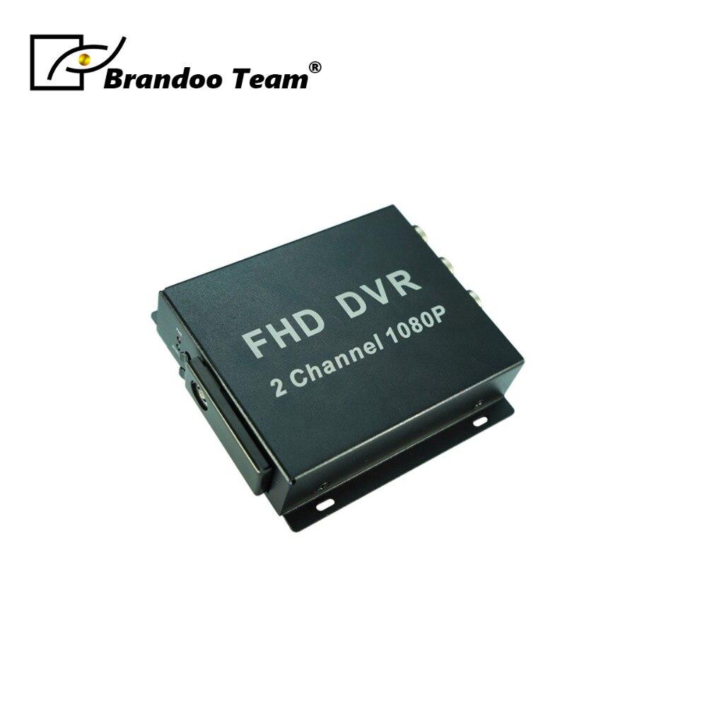 1080P Home Office Security Mini 2CH SD DVR Video Audio Recorder Surveillance CCTV DVR цены