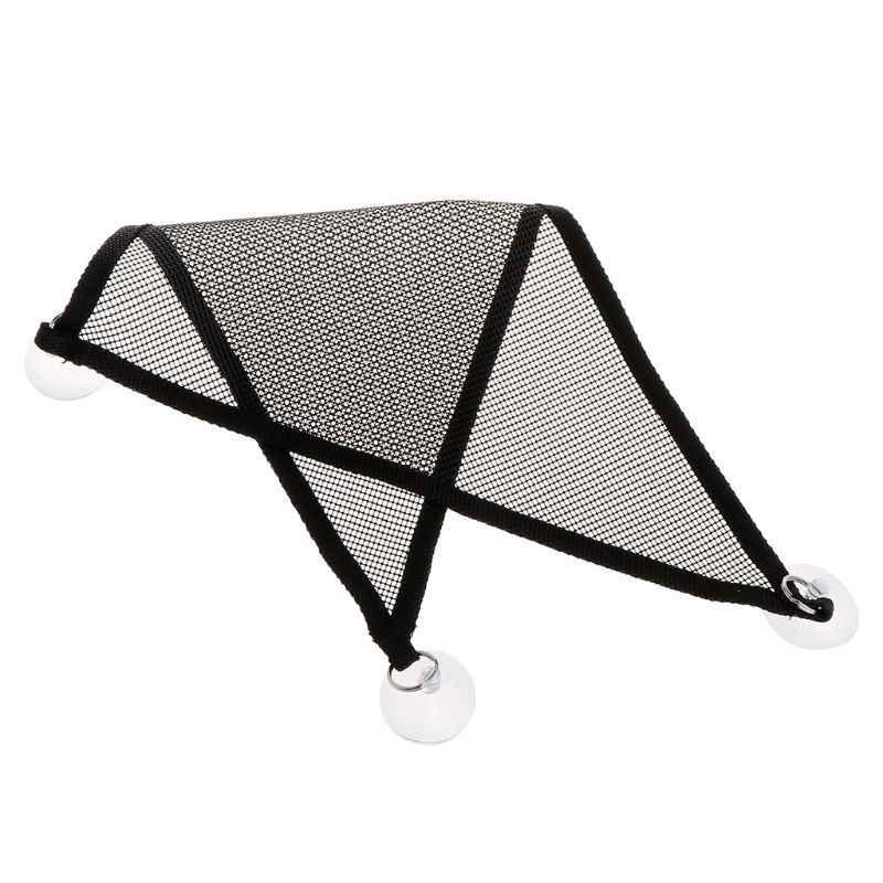 2 pçs/set Pet Malha Rede Cama Dormir Brinquedos do Jogo Do Balanço Escalar Produtos de Tecido Oxford Para Réptil Lagarto Com Ventosa