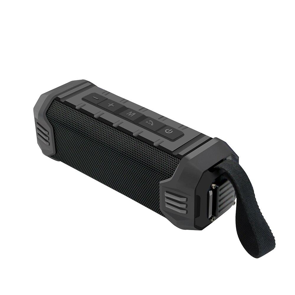 Newrixing haut-parleur Bluetooth extérieur sans fil stéréo Portable haut-parleur intégré Mic IPX4 étanche haut-parleur batterie externe TF USB AUX