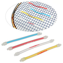 Newly 10pcs Tennis Racket Shock Absorber Silicone Durable Damper for Tennis Strings C55K Sale(China)