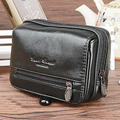 Top Quality Men Genuine Leather Belt Hip Bum Fanny Waist Pack Travel Casual Brand Famous Mobile Case Cigarette Coin Purse Bag