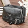 Top Quality Men Genuine Leather Belt Hip Bum Fanny Waist Pack Travel Casual Brand Famous Mobile Case Cigarette Coin Purse Bag