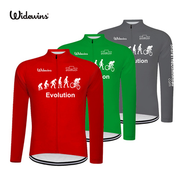 Koszulka kolarska Evolution długi rower mtb odzież rowerowa długa koszulka rowerowa Maillot Roupa Ropa De 8011