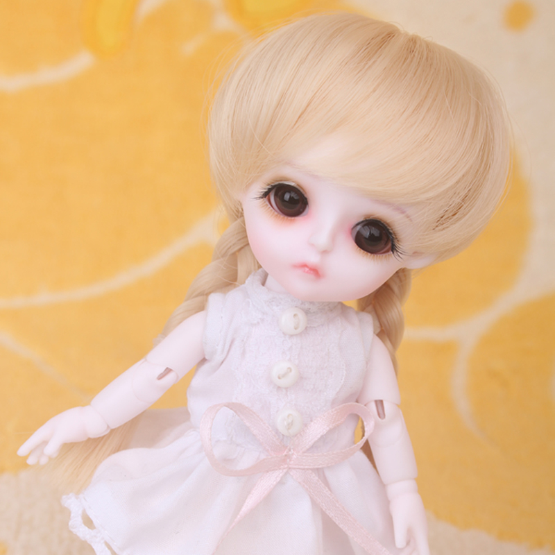 New Arrival 1/8 BJD Doll BJD/SD Fashion Cute Doll With Eyes For Baby Girl Gift 1 8 bjd doll bjd sd fashion cute miu with eyes for baby girl gift full set doll clothes shoes wig like picture