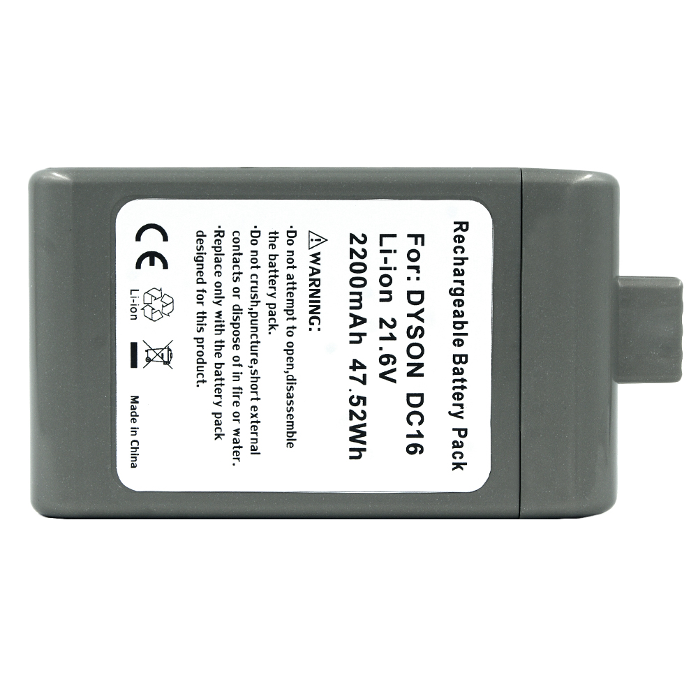 21 6v 2200mah Vacuum Cleaner Rechargeable Battery For