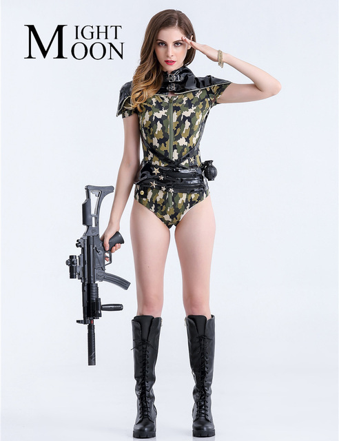 Sexy army halloween costumes