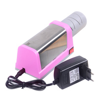 XYJ Brand Pink Electric Diamand Knife Sharpener High Quality 4 Stages Household Sharpener For Metal Ceramic