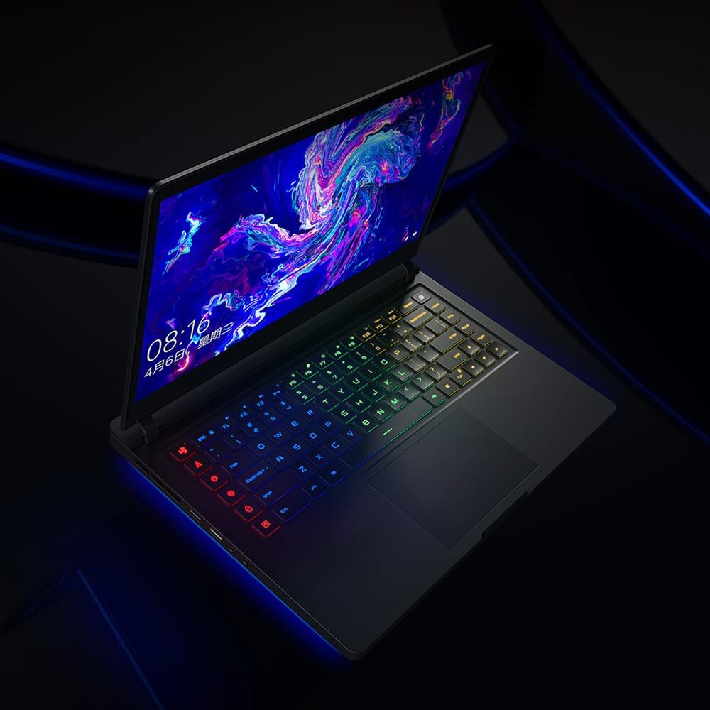 Обновленная версия, ноутбук Xiaomi mi Ga mi ng, 15,6 дюймов, Windows 10, Intel Core i7-8750 H, 16 ГБ ram, 512 Гб SSD, ноутбук