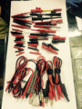 Jw2300electronic cuisine Test Lead Kit ago probe crocodile armor shell hook Multimeter Accessories