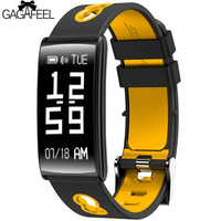 GAGAFEEL Smart Watches Clock For IPhone IOS Android Blood Pressure Detection Clock Alarm For Men Women