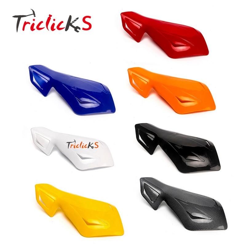 """Triclick Motorcross Handlebar Ձեռքի պահակներ 7/8 """"Պաշտպանող ձեռքի մեքենա Մոտոցիկլային խոզանակ բար ձեռքի պահակախցիկ Մոտոցիկլետների / հեծանիվների / խորվաթների համար"""