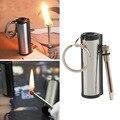 Cheap Permanent Emergency Fire Starter Survival Flint Match Lighter Metal Outdoor Recycling Camping Match Lighter