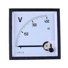 Panneau de jauge de voltmètre analogique SQ-96 DC 100V 150V 250V 300V 450V 500V 750V V V