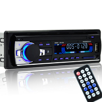 2017 New 12V Car Stereo FM Radio MP3 Audio Player Support Bluetooth Phone With USB SD