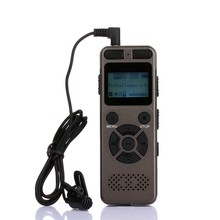 EDAL Voice Recorder Digital Recording Pen + MP3 Music Player with 3.5mm Earphone Micphone jack Built in 1450mAh Large Battery