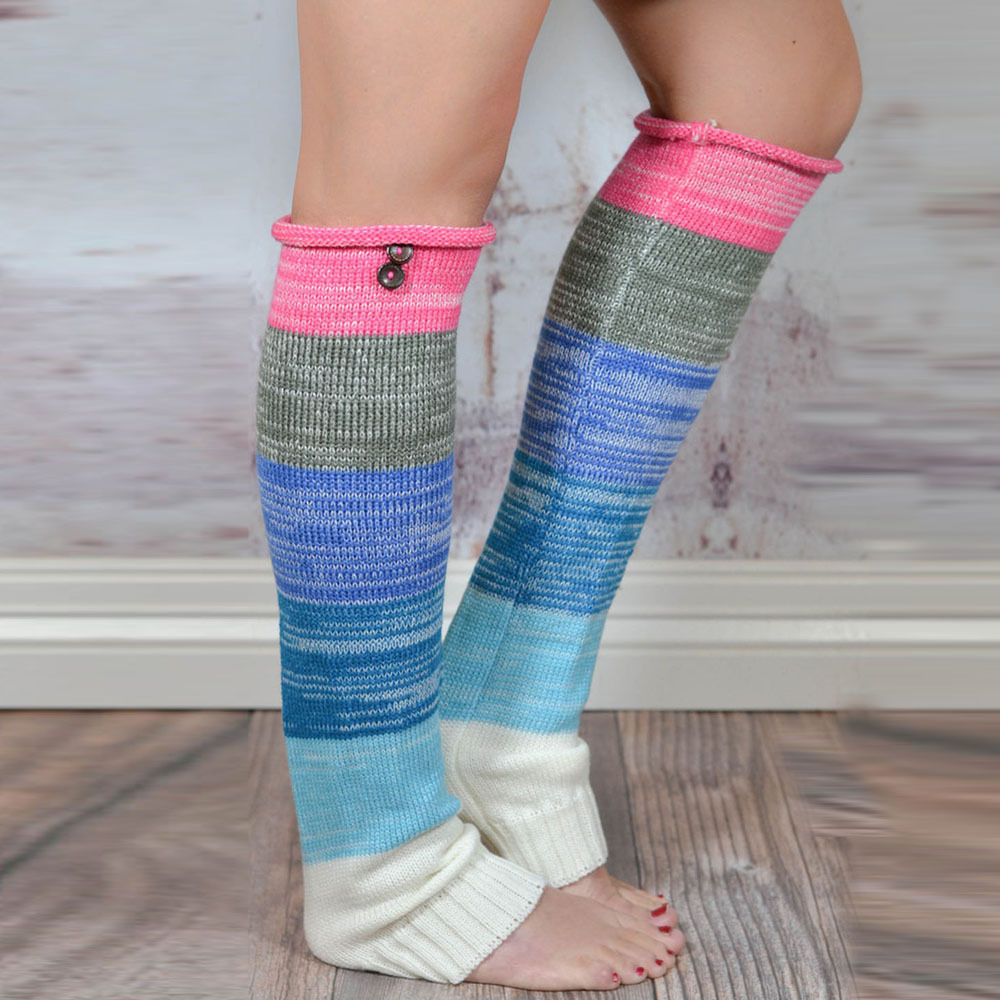 Buy multi color leg warmers women and get free shipping on ...