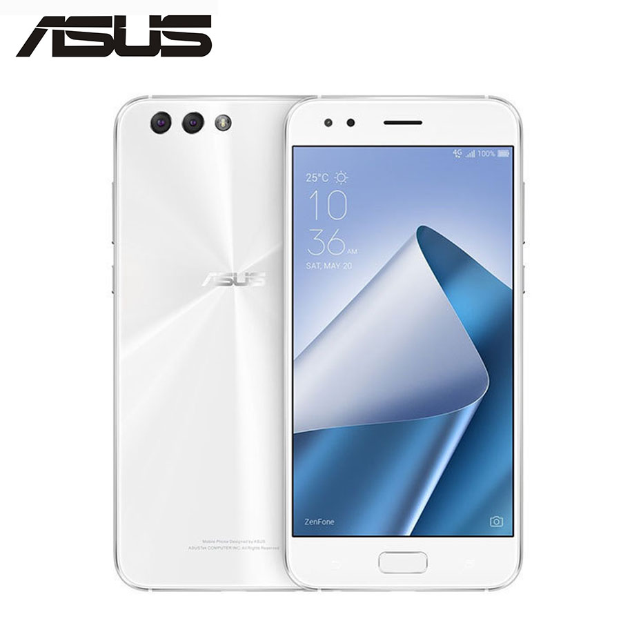 "Global Version ASUS ZenFone 4 ZE554KL 4G LTE Mobile Phone Snapdragon 630 Octa Core 4GB 64GB 12MP 5.5""Screen 1080x1920p CellPhone"
