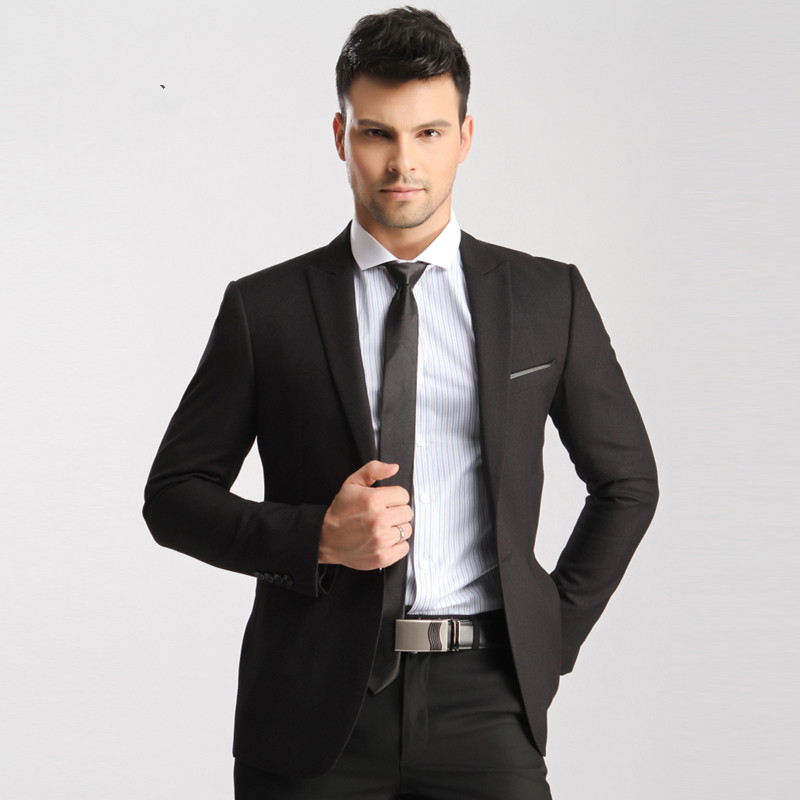 Popular Black Grey Suit-Buy Cheap Black Grey Suit lots from China ...