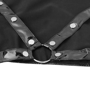 Image 5 - Wetlook à manches longues pour homme, montant clouté Muscle, anneau torique, demi haut, Sexy, boîte de nuit, boîte de nuit, toute nouvelle collection