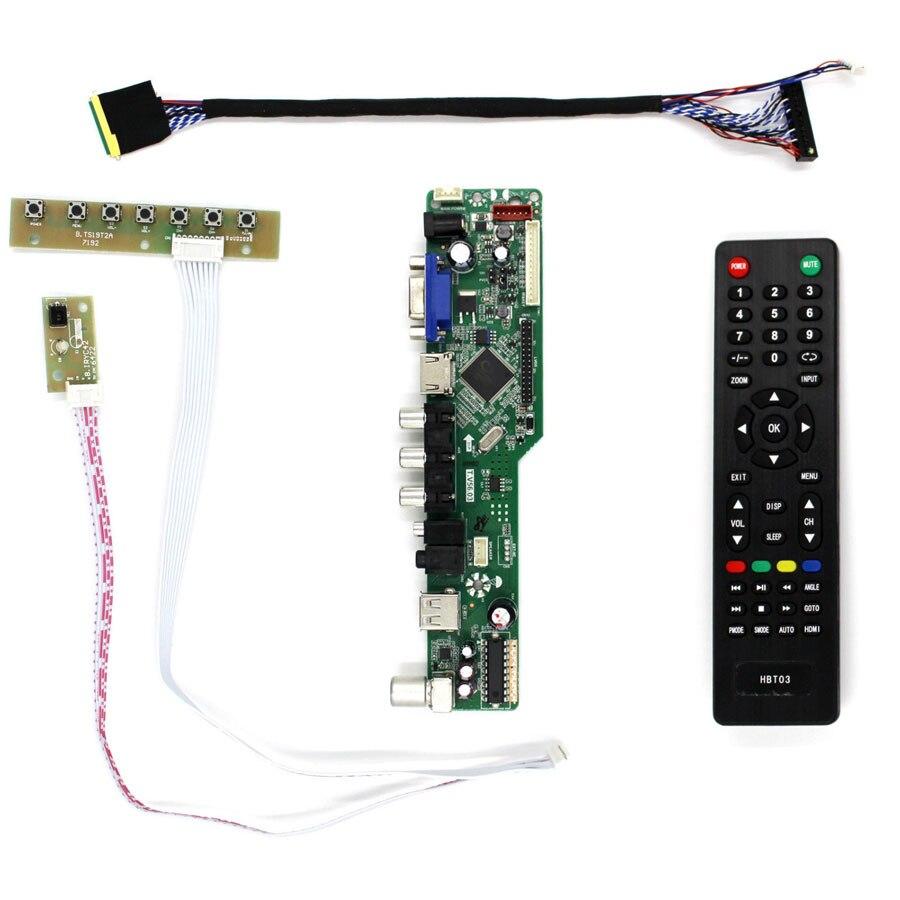 Latumab NEW HDMI VGA AV USB AUDIO LCD Controller Board G150XG01 G150XG03 V1 15