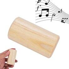 Pequeño agitador cilíndrico sonajero instrumento de ritmo regalo para bebé chico instrumento Musical de percusión educativo temprano popular