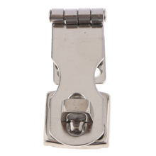 Stainless Steel Padlock Hasp Swivel Door Clasp Marine Hardware Boat Parts