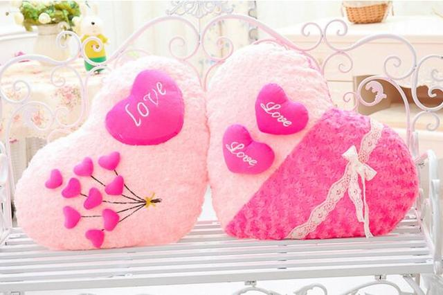 Divano Forma Rosa : 48 cm regalo di nozze amore cuscino stereo forma di calore rosa